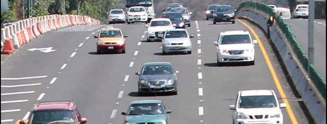 Autopista México-Pachuca, la de más aforo vehicular tras Navidad
