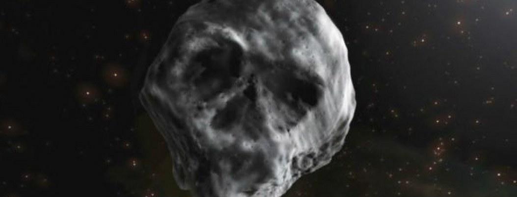 2018: asteroide con forma de cráneo pasara por la Tierra