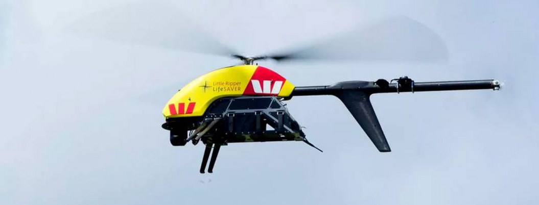 Drones detectarán tiburones en playas de Australia