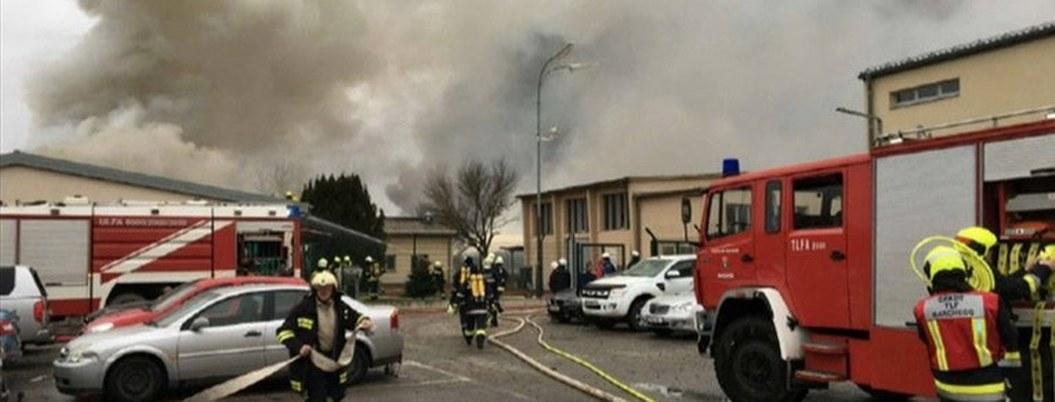 Italia declara emergencia tras explosión de planta de gas en Austria
