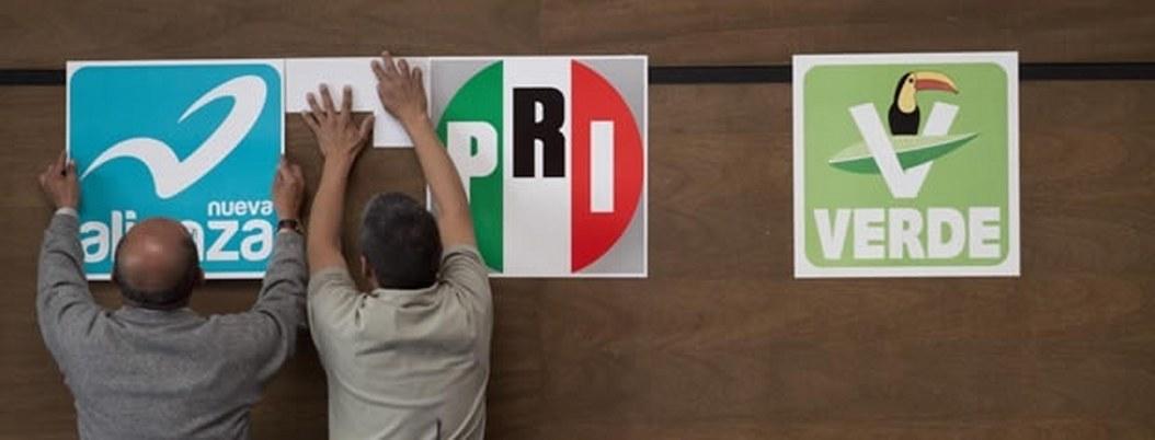 PRI registrará este jueves coalición con Partido Verde y Nueva Alianza