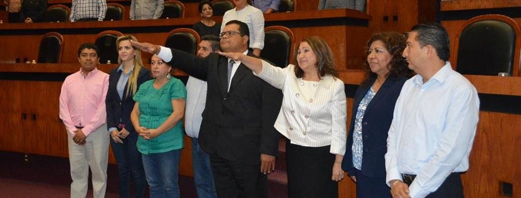 Paulino Jaimes, de empleado a magistrado