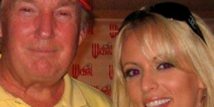 Exactriz porno con Trump