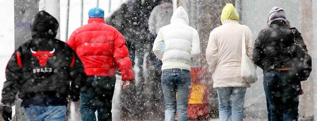 Frío continuará en gran parte del país debido a masa de aire polar