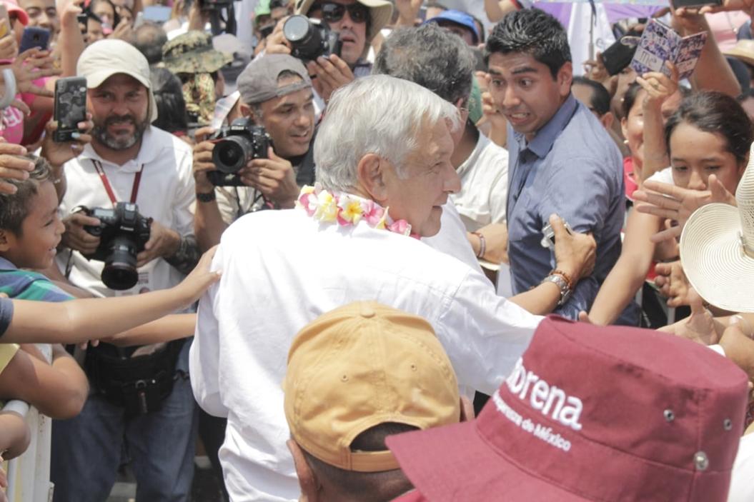 AMLO regaña a candidatos de Guerrero por no salir a las calles 2