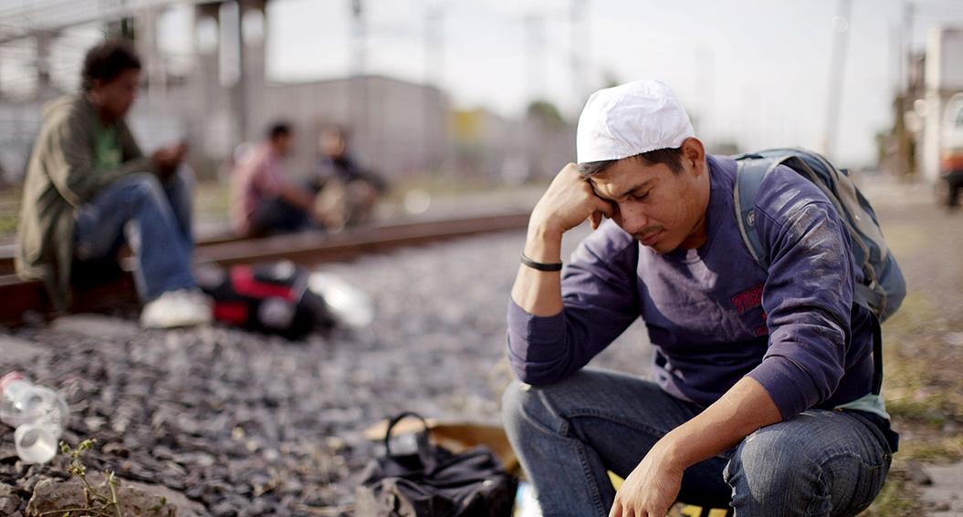 Centroamericanos se juegan el futuro en frontera sur de México 1