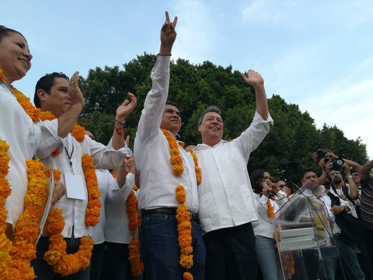 Aguirre respalda a Toño Gaspar y dice que PRD ganará en 2021 1