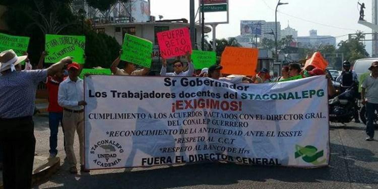Guerrero: sindicato de Conalep denuncia violación de derechos 1