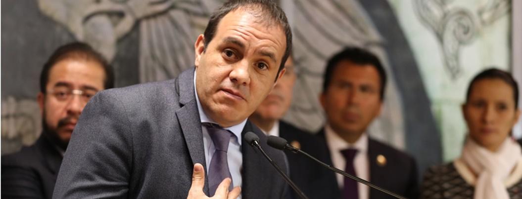 Blanco acusa a Graco con Peña: nos dejaron un estado en quiebra