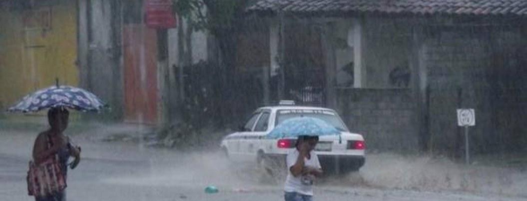 Lluvias en 30 estados del centro, sureste y noroeste de México