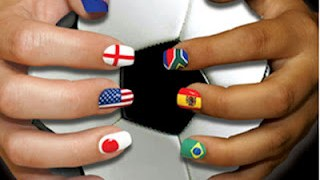Así lucen los diseños de manicura mundialista 8