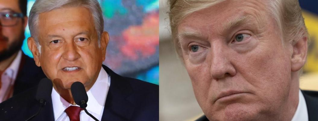 AMLO, dos pasos adelante de las bravuconadas de Trump
