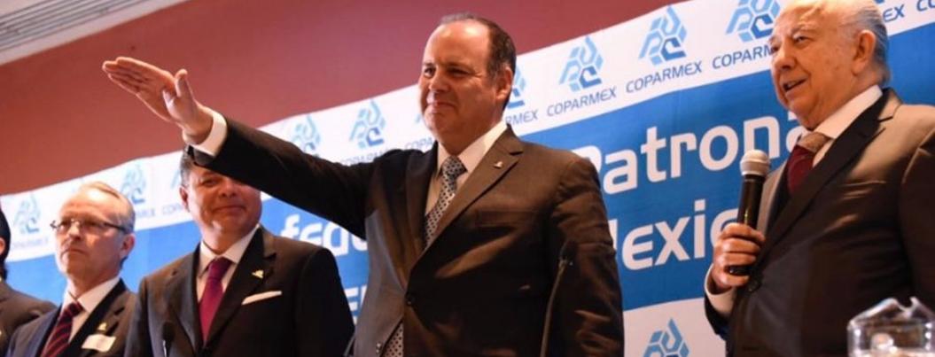 Coparmex también se suma al discurso de poner contrapesos a AMLO