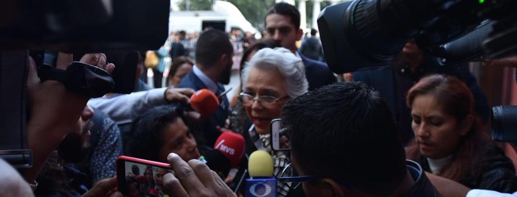 Sánchez Cordero defiende Ley Garrote; invita a inconformes a impugnar