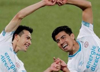 Lozano y Gutiérrez se divierten en goliza del PSV al ADO 1