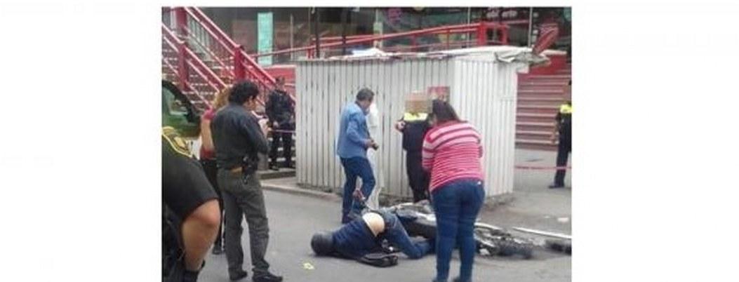 Matan asaltante en la CDMX, otro más fue detenido