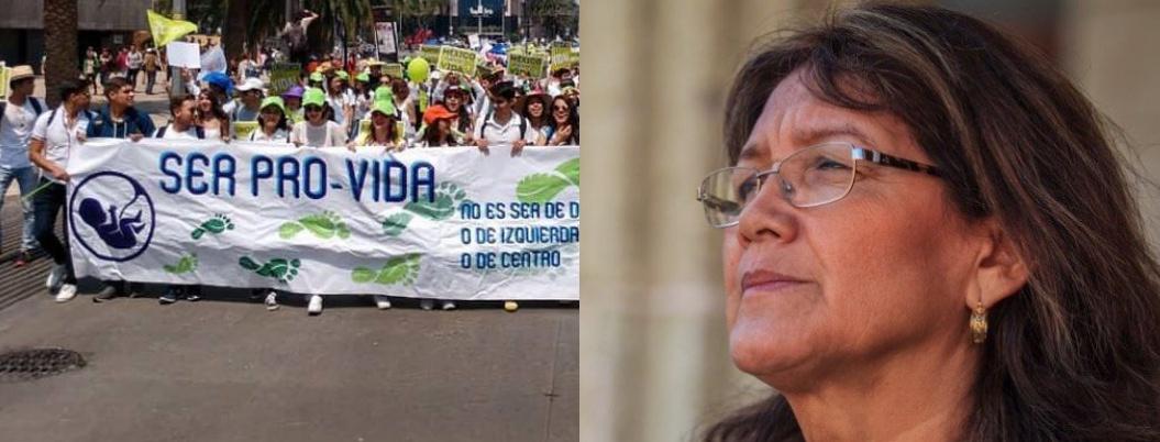 Provida repudia queGarfías Marín reciba la Sentimientos de la Nación