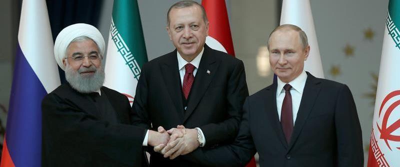 Inicia cumbre tripartita en Teherán; decidirán destino de Idlib