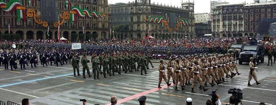Habrá cortes viales por Desfile Militar en la CDMX
