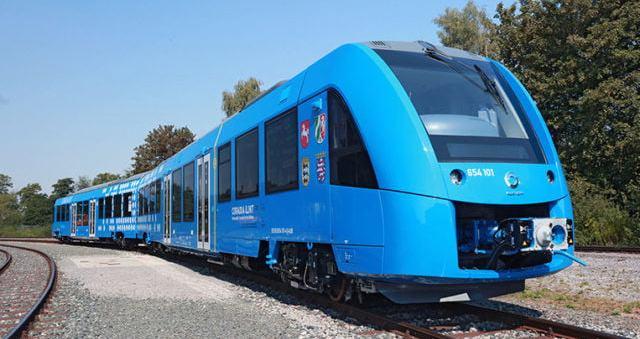 Primer tren que funciona con hidrógeno ya opera en Alemania