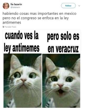 """""""Ley antimemes"""" en Veracruz dará hasta 2 años de cárcel a quien comparta 3"""