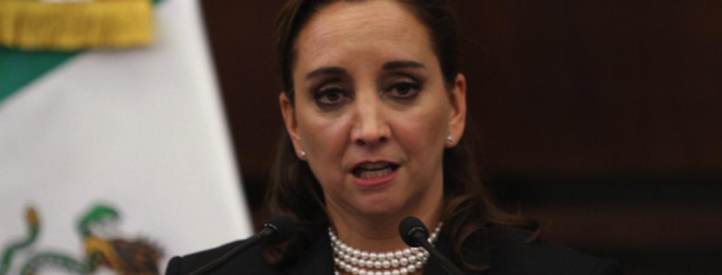 Senadora Claudia Ruiz Massieu pide licencia para separarse del cargo