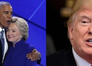 """""""Investigarán atentados contra Hillary Clinton y Obama"""", afirma Trump 1"""