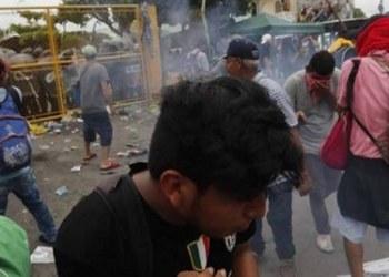 Policías guatemaltecos dan portazo a migrantes; hay 10 heridos 1
