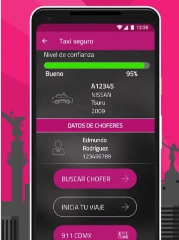 Smartgob, app que debes usar en la CDMX para saber si un taxi es seguro 1