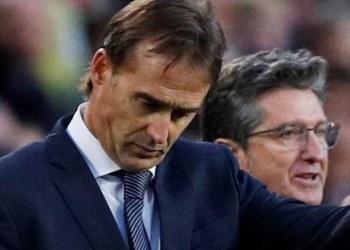 Destituyen a Julen Lopetegui del Real Madrid tras fracaso en clásico 2