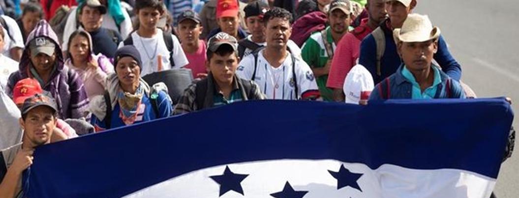 Arriba nuevo contingente de migrantes a frontera México-Guatemala
