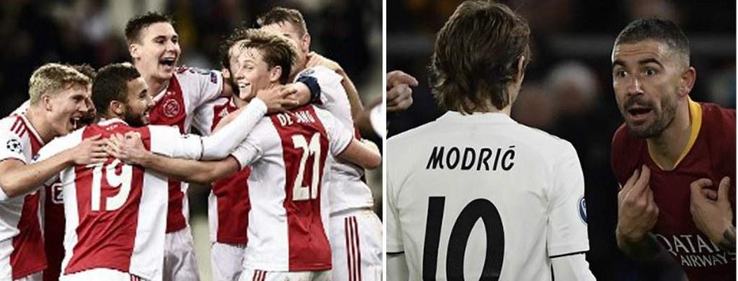 Real Madrid, Roma y Ajax se clasifican a octavos de 'Champions'