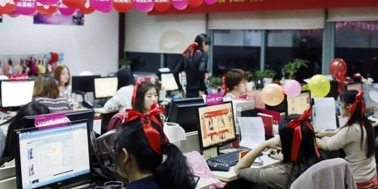 Celebran Día del Soltero en China 1