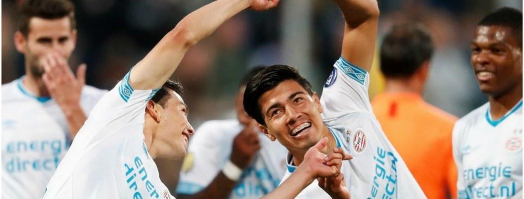 """PSV, """"Chucky"""" y """"Guti"""" ansían mantener invicto en Liga de Holanda"""