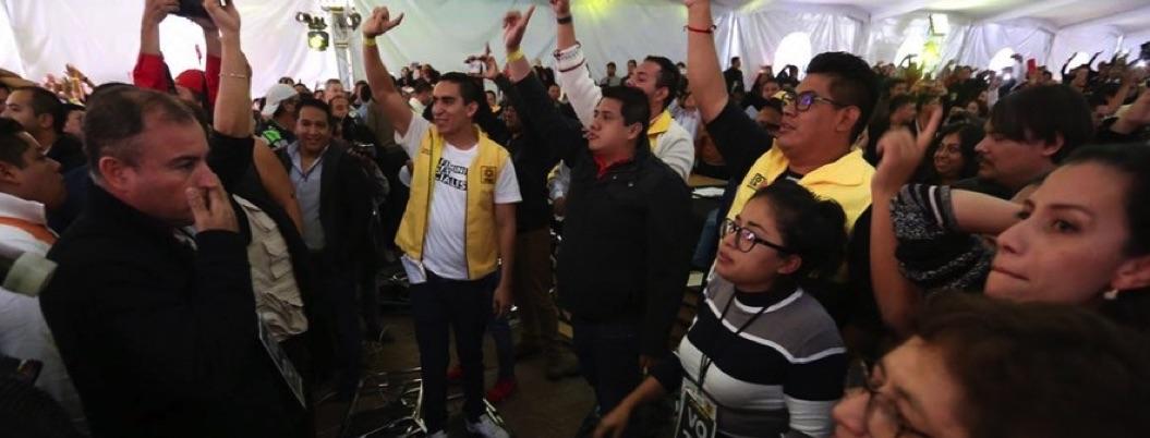 PRD eliminará tribus, pero no puede dialogar sin gritos y sombrerazos