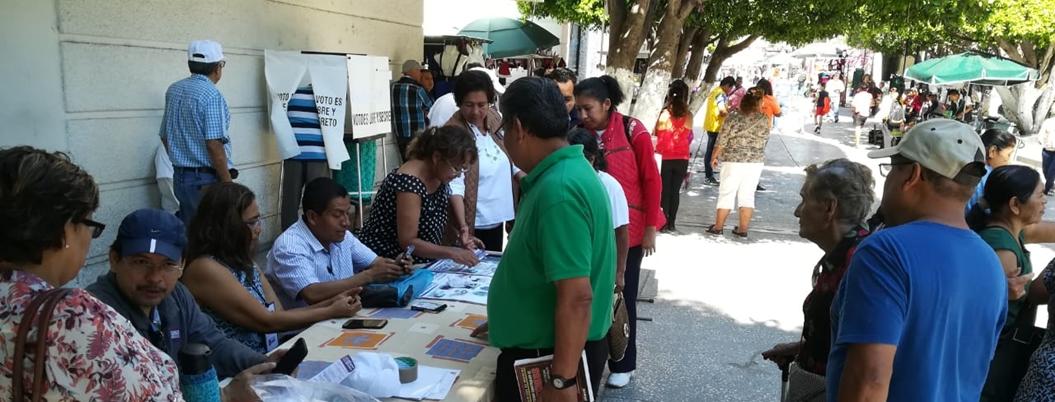Consulta Ciudadana se lleva a cabo en Guerrero sin incidentes