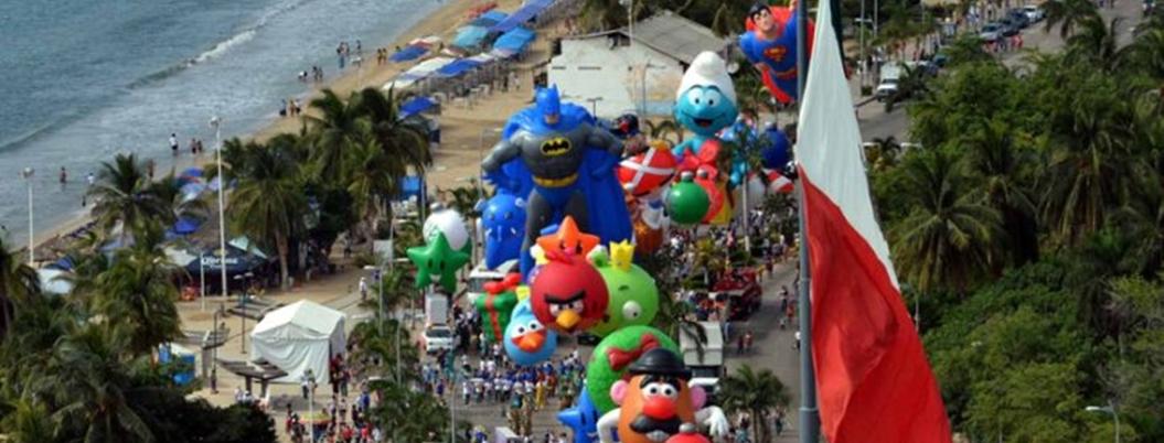 En riesgo, Desfile de Globos de Acapulco por falta de recurso