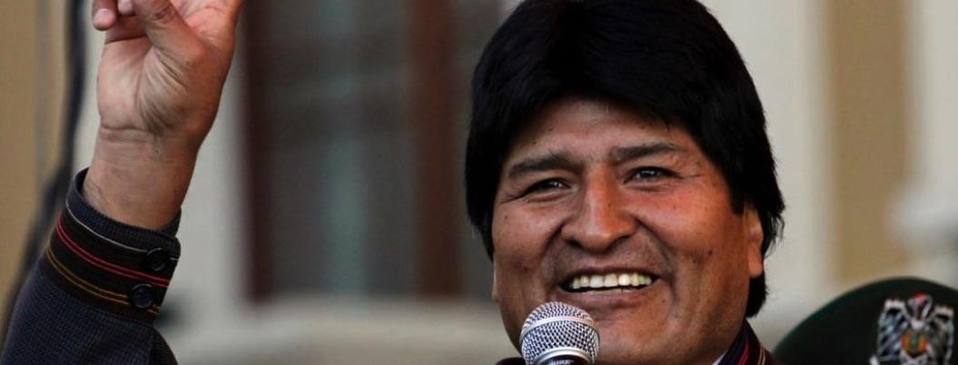 Evo Morales va por cuarta reelección como presidente de Bolivia