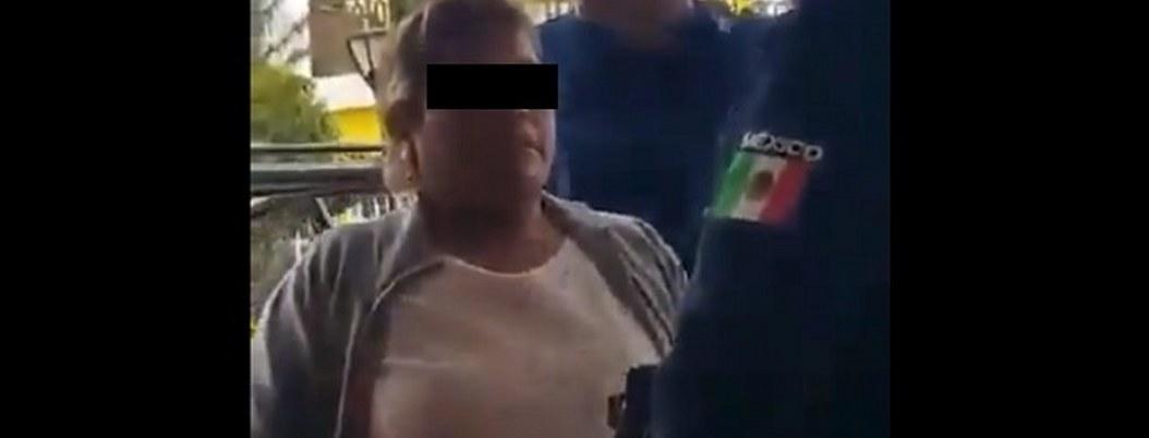 """""""Pinche gatito, aquí mando yo""""; Lady regidora insulta a policía"""