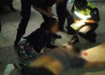 Rescatan policías a presuntos criminales de linchamiento en Edomex 1