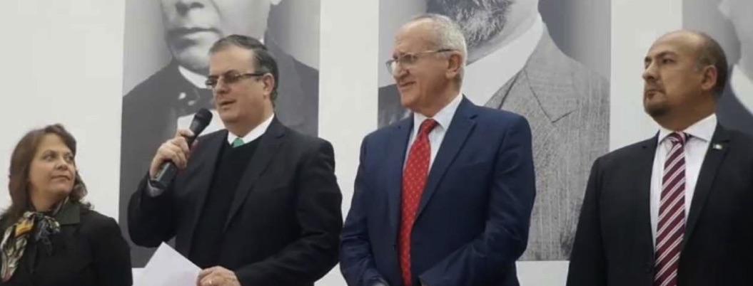 Ebrard anuncia nombramientos para subsecretarías de SRE