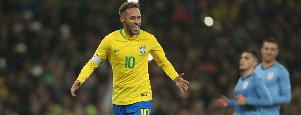 Penal de Nyemar le dio la victoria a Brasil ante Urugay
