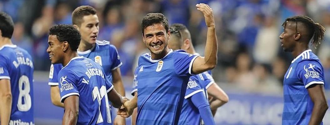 Alanís mete su primer gol en Europa en triunfo del Oviedo