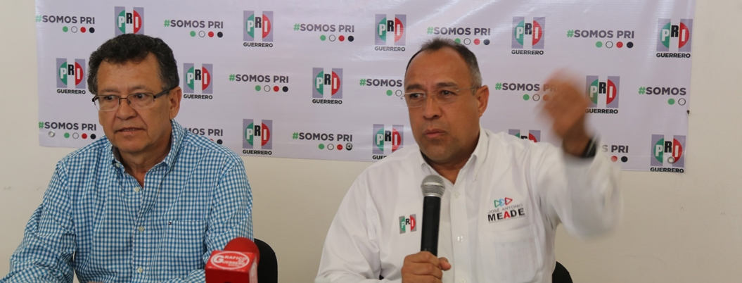 PRI también acusa a la sociedad de violencia en Guerrero