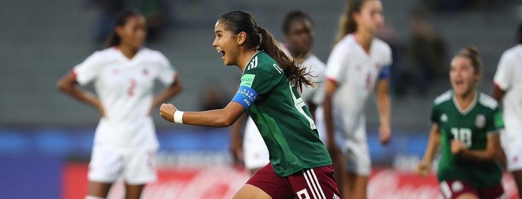 Selección Feminil sub 17 con logro histórico: pasa a final de Mundial