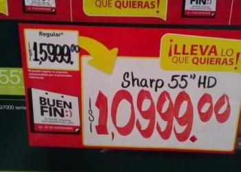 Se llevan televisión 4k en mil pesos por error en etiquetado 3