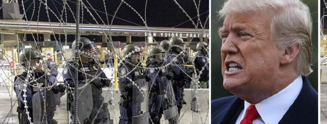 "Trump ordena a militares ""usar fuerza letal"" contra migrantes"