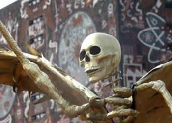 UNAM dedica megaofrenda de Día de Muertos a estudiantes del 68 1