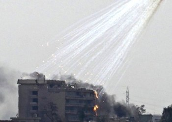 EU lanza bombas con fósforo blanco sobre Siria; hay varios muertos 1