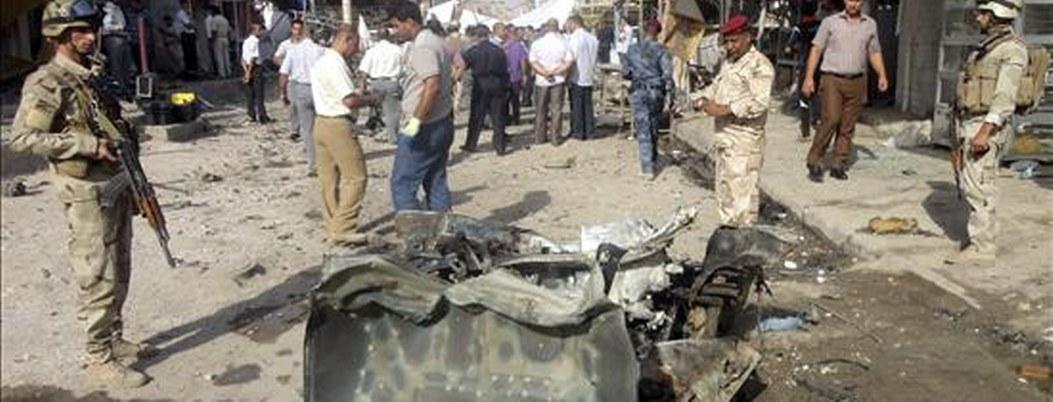 Atentado en ciudad iraquí deja 15 muertos y 16 heridos